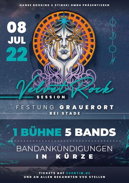 Ticket - Velvet Rock Session - 08. Juli 2022