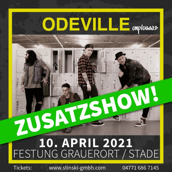 ODEVILLE unplugged - 10. April 2021 - Zusatzshow - FESTUNG GRAUERORT