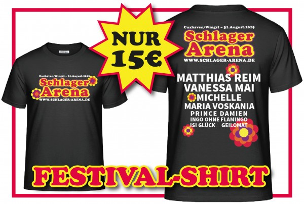 T-Shirt Schlager Arena