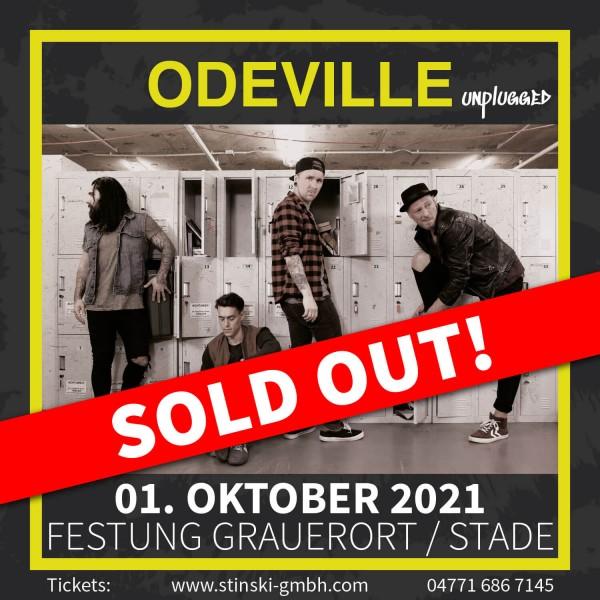 ODEVILLE unplugged - 01. Oktober 2021 - FESTUNG GRAUERORT