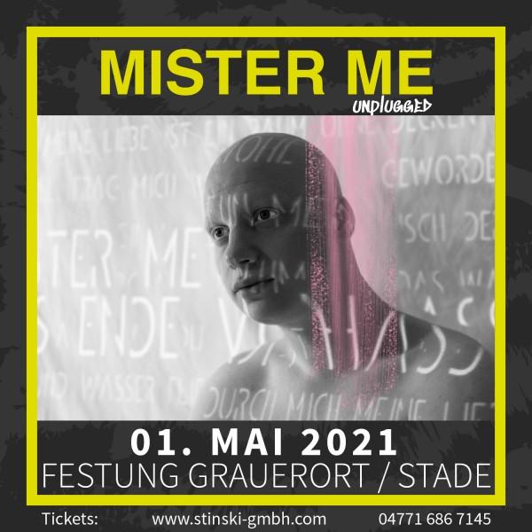 MISTER ME - 01. Mai 2021 - UNPLUGGED