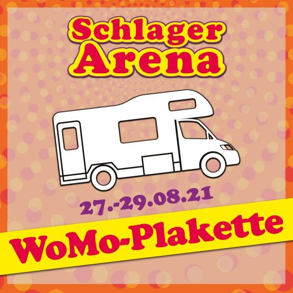 WoMo-Plakette SCHLAGER ARENA 2021