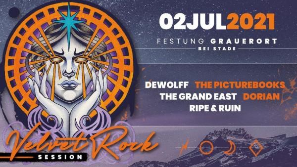 Ticket - Velvet Rock Session - 02. Juli 2021