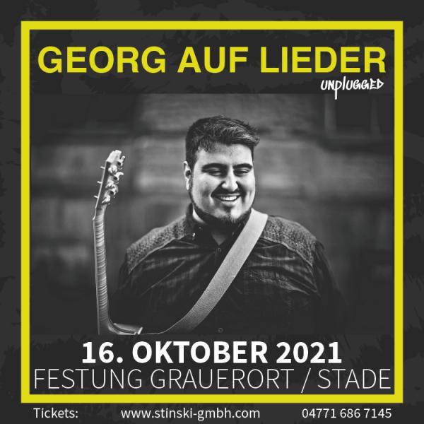 GEORG AUF LIEDER - 16. Oktober 2021 - UNPLUGGED