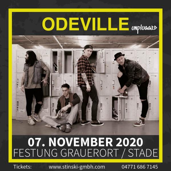 ODEVILLE unplugged - 07. November 2020 - FESTUNG GRAUERORT