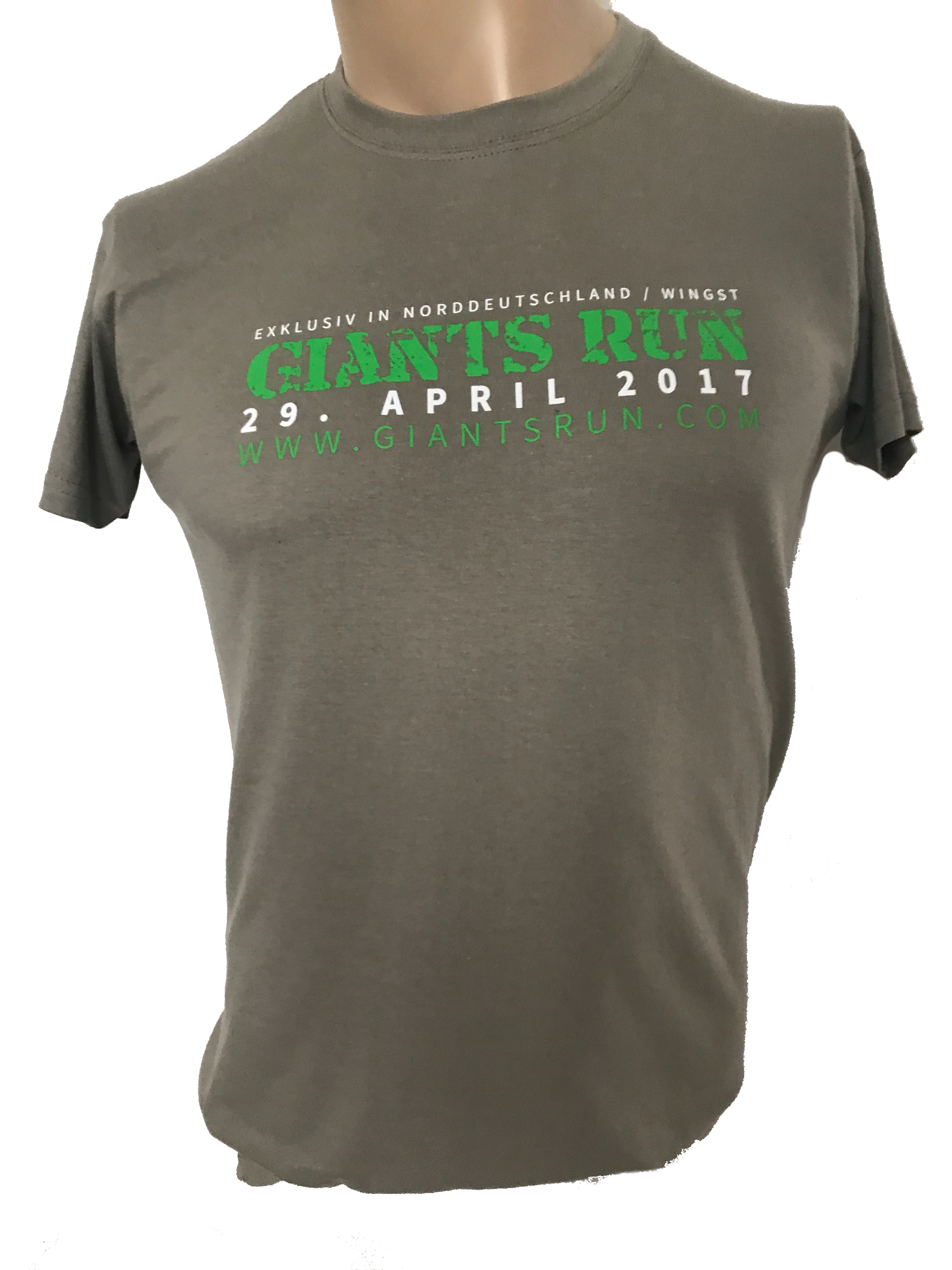 T Shirt 'GIANTS RUN ® 2017' Herren schwarz grau