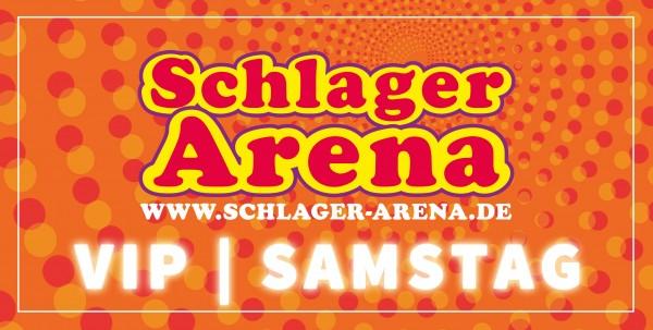 VIP-Ticket - SAMSTAG - SCHLAGER ARENA 2021